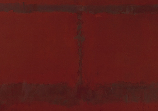 Mark Rothko Mural, Section 6 {Untitled} [Seagram Mural], 1959 No. 19018 Alt # Estate No. 6009.59; CR# 662  Format of original photography: high res tiff